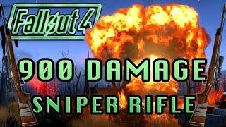 900 Damage Sniper Rifle The Instigator Fallout 4