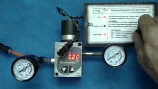 Electronic Air Pressure Regulator Tester