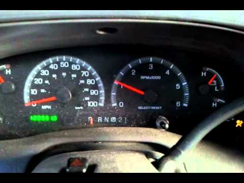 Ford Econoline Engine Diagram F150 Tach And Speedo Issue Youtube