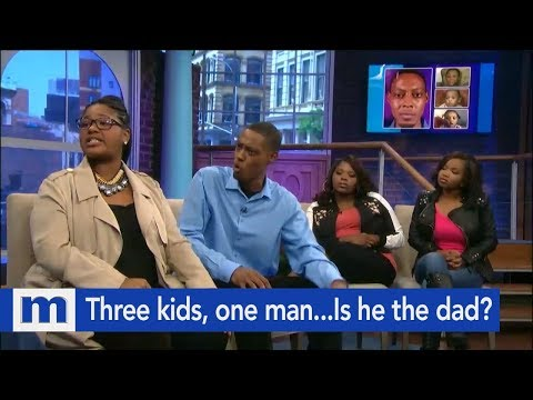 Three Kids, One Man...Is He The Dad? | The Maury Show