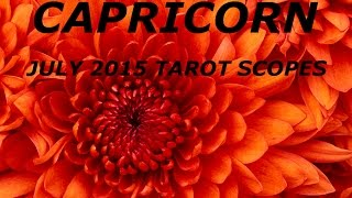 CAPRICORN JULY 2015   RELEASE NEGATIVE SELF TALK   LOVE IS THERE FOR YOU
