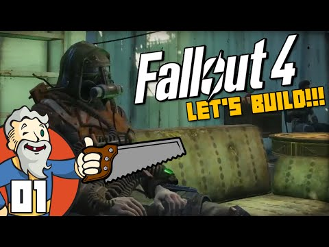 """ALL THE COMFORTS OF HOME!!!"" Fallout 4 LET'S BUILD Part 1 - 1080p HD PC Gameplay Walkthrough"