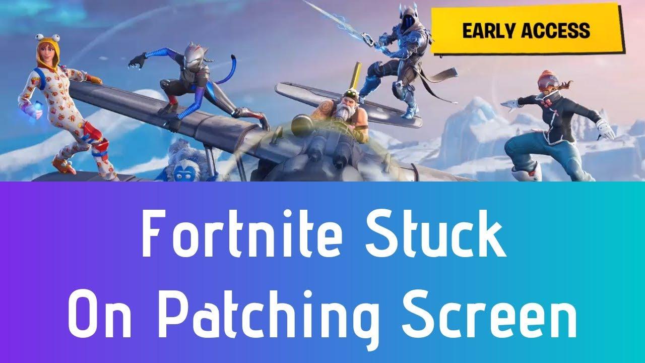 Fortnite Stuck On Loading Screen Mac how to fix fortnite stuck on patching screen | fortnite frozen at patching  loading screen fix