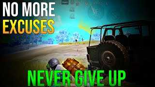 MY WEAKNESS BECAME MY STRONGEST POINT | NEVER GIVE UP | PUBG MOBILE MONTAGE