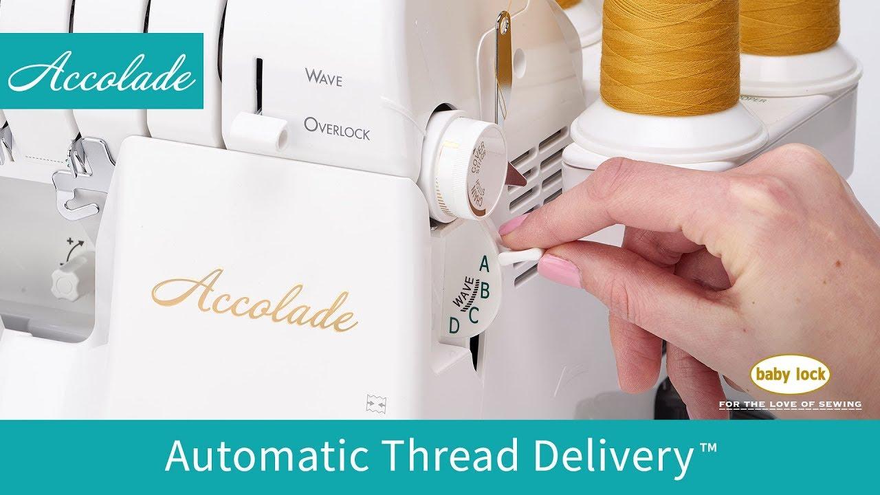 Baby Lock Accolade serger and cover stitch machine