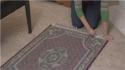 Housecleaning & Home Maintenance : How to Keep Rugs on the Carpet From Moving