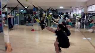 Suspension Training for quadriceps (TRX) Thights