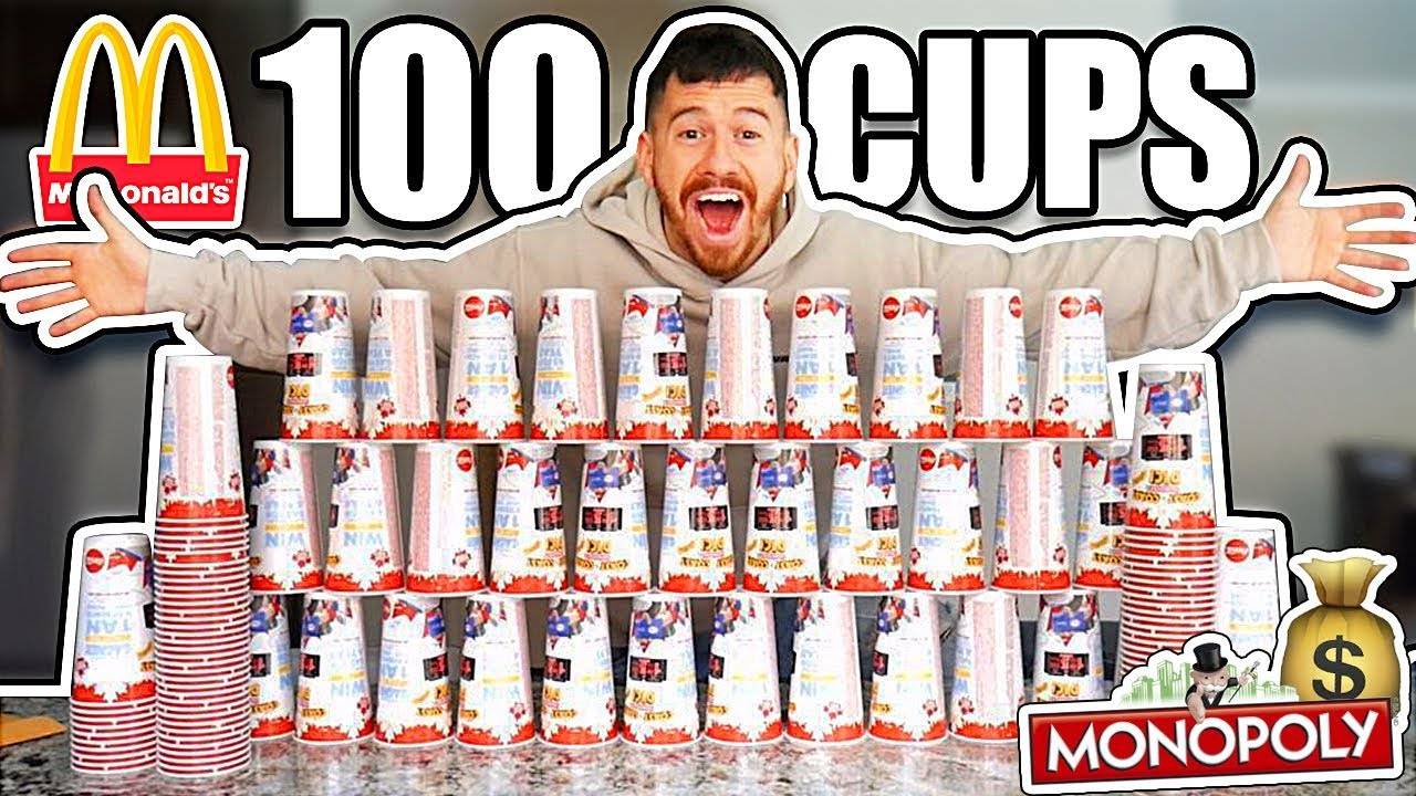 100-mcdonald-s-cups-experiment-monopoly-halloween-jackpot-challenge