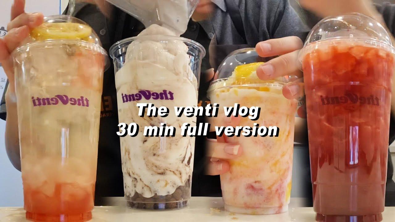 [더벤티 Cafe Vlog][무자막][+마빙] 보다 보면 시간 순삭 될 갬맹도 30분 감독판(?) 더벤티 브이로그가 도착했어요/the venti/더벤티알바/브이로그