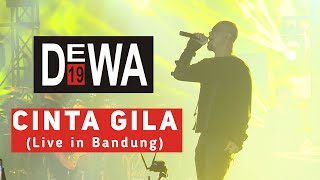 Dewa 19 - Cinta Gila | Live at Eldorado Bandung
