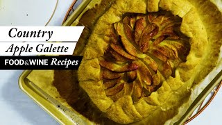 Jacques Pépin's Apple Galette | Food & Wine Recipes
