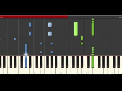 Nicky Jam El Amante piano midi tutorial sheet partitura cover app karaoke