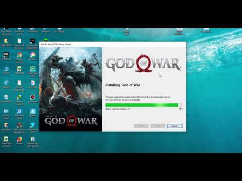 HOW TO DOWNLOAD AND INSTALL GOD OF WAR 4 FOR PC 2019 with CD Key