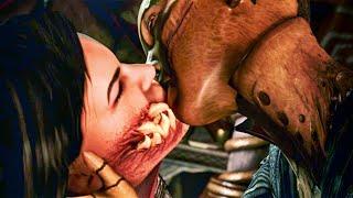 Mortal Kombat X Story 06: D'Vorah vs Kano, Quan Chi, Jax & Scorpion, Mileena ryona