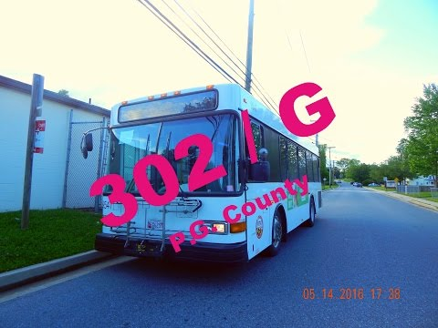 Route 302/G [WEEKDAYS] (RTA of Central Maryland) -- FULL RIDE!... Part 2/2