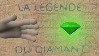 Die legende des diamant-Blender animation