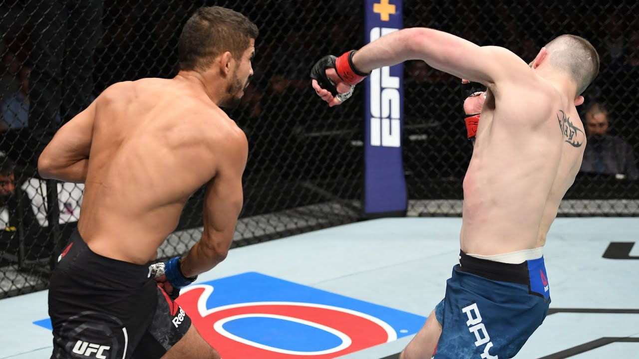Best Finishes From UFC Vegas 22 Fighters