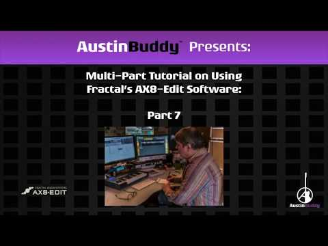AUSTINBUDDY'S AX8 EDIT TUTORIAL - PART 7 CAB BLOCK, CAB MANAGE