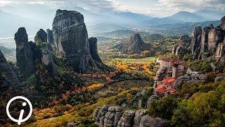 Метеоры Греция(Монастырский комплекс в Греции, расположеный на вершинах скал., 2015-06-28T23:56:23.000Z)