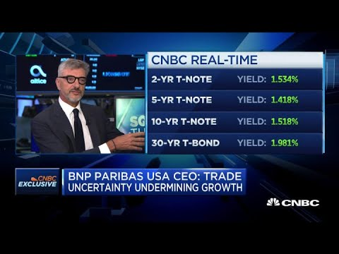 BNP Paribas USA CEO: Trade uncertainty is undermining growth
