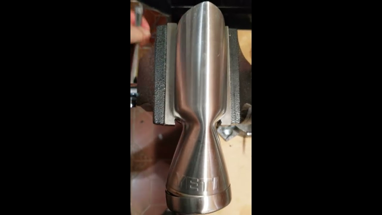 YETI cuts ties to the NRA Foundation  Crushed Tumbler! (Cooler Manufacturer)