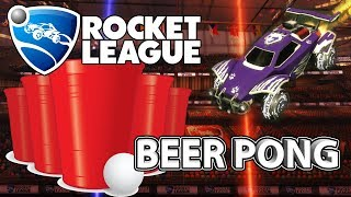 BEER PONG IN ROCKET LEAGUE | THE FUNNIEST EPISODE WE'VE EVER RECORDED