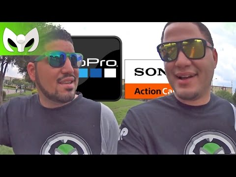 Sony Action Cam vs Go Pro Hero 4 (Comparaci�n - Audio y Video)