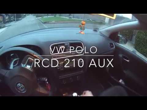 VW Polo V Radio/Navi ausbauen und AUX nachrüsten