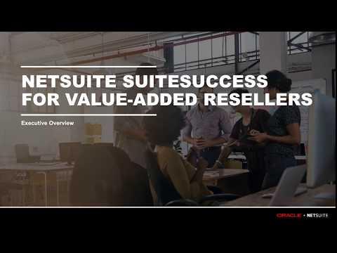 SuiteSuccess: IT VAR Executive Overview
