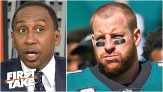 Carson Wentz has 'looked like straight garbage' for the Eagles - Stephen A. | First Take