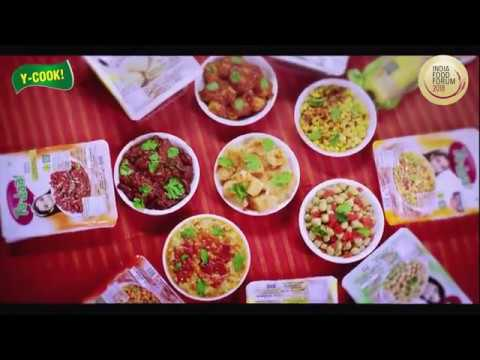 INDIA FOOD FORUM 2018 - 16 Startups That Changed The Taste Of India ( y - cook )