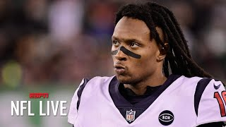 Houston Texans players can't believe DeAndre Hopkins was traded – Dianna Russini   NFL Live
