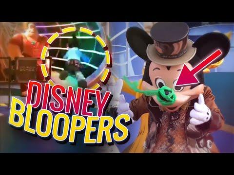 Funny DISNEY CHARACTER BLOOPERS | Disneyland / Disney World FAILS 2019