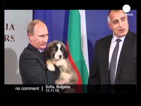 Putin visits Bulgaria - no comment