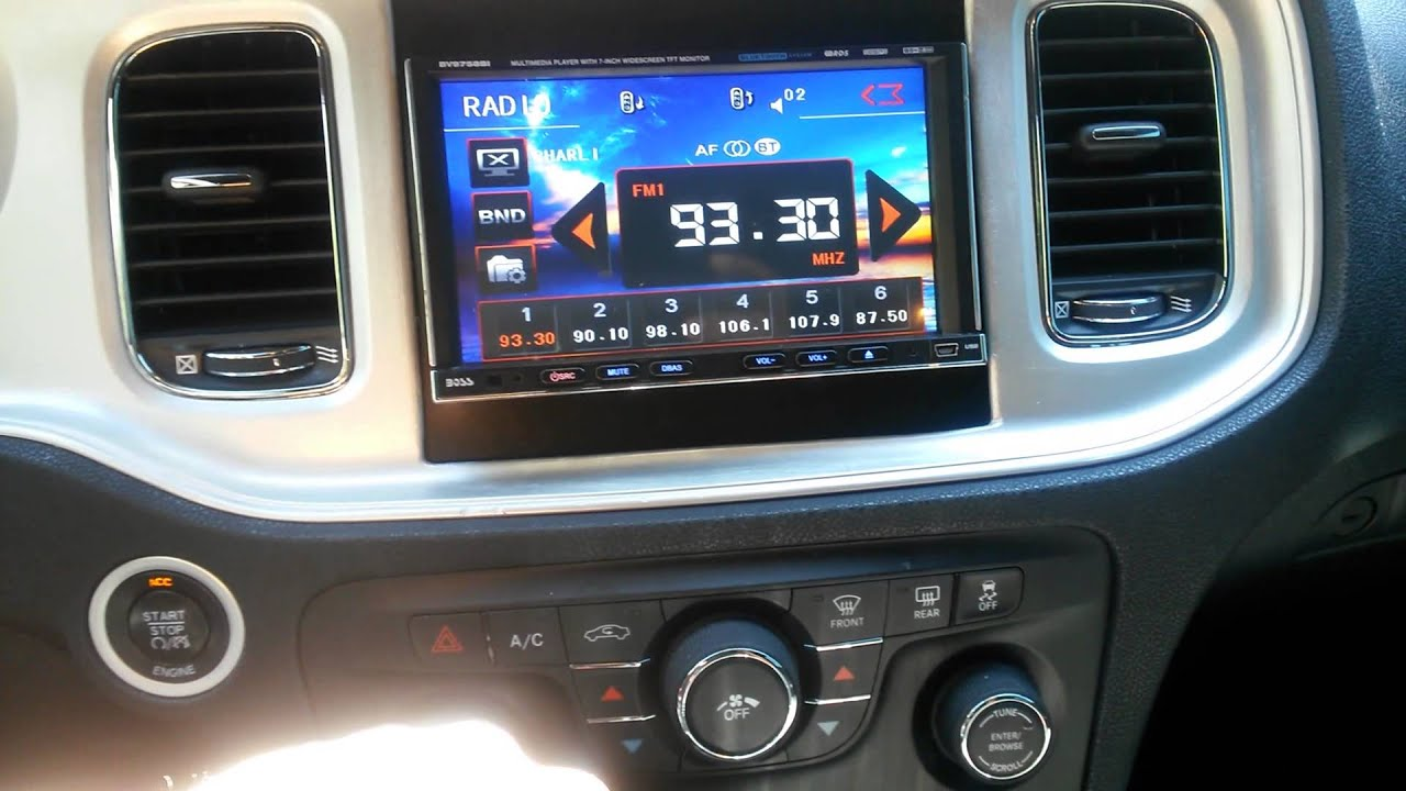 2013 Dodge Charger W Double Din Youtube