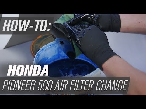 How To Change the Air Filter on a Honda Pioneer 500