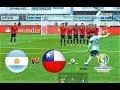 PES 2019 - ARGENTINA vs CHILE - Copa America