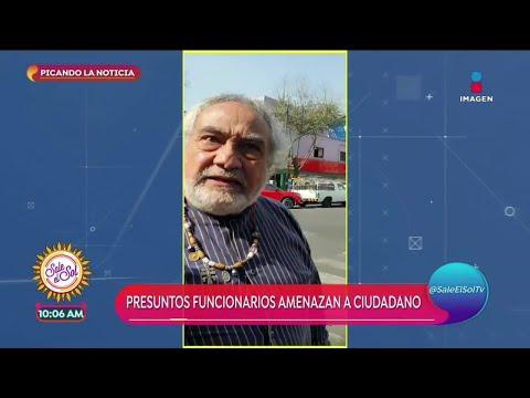 Funcionarios Amenazan A Ciudadano | Sale El Sol