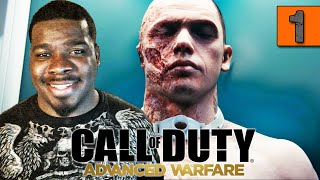 Call of Duty Advanced Warfare Gameplay Walkthrough Part 1 Induction - Campaign (COD AW)