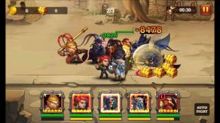 Heroes Charge: Cursed City difficulty 9