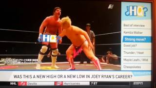 Joey Ryan gets more air time on ESPN