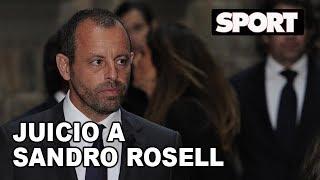 JUICIO A SANDRO ROSELL, EXPRESIDENTE DEL FC BARCELONA |  SESIÓN 25-2-2019