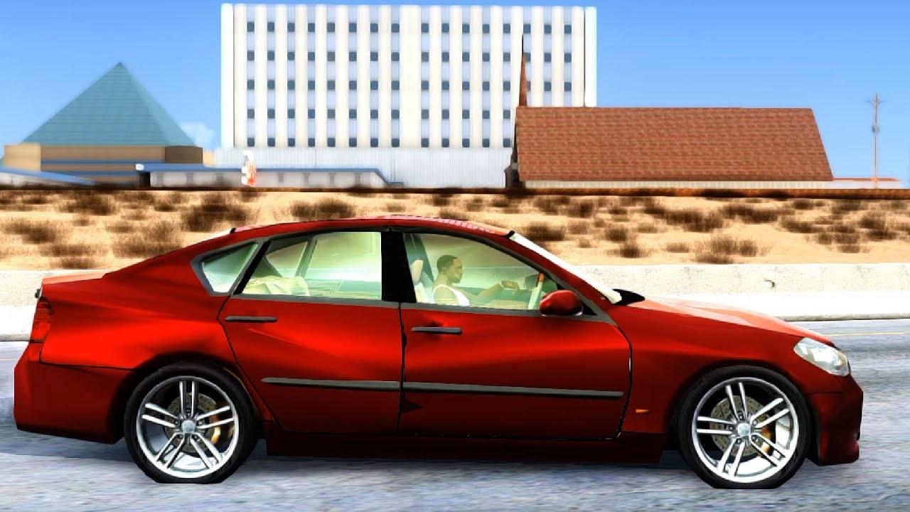 Nissan infiniti m45 2006 gta san andreas youtube nissan infiniti m45 2006 gta san andreas vanachro Gallery