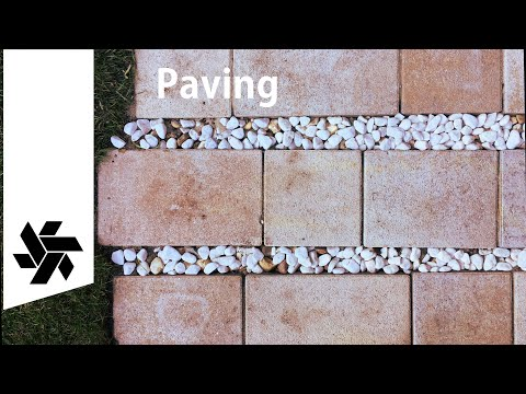 DIY Patio Paving // Rainwater Friendly
