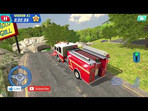 Fire Rescue Driving - Coast Guard Beach Rescue Team #1 - Android Gameplay |