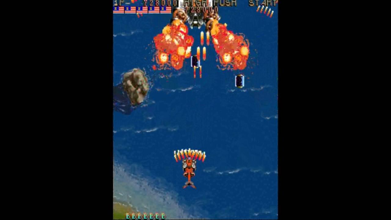 Thunder Dragon [old arcade game 1991] - YouTube