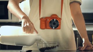 "Реклама фотоаппарата. ""Always grab a camera""."