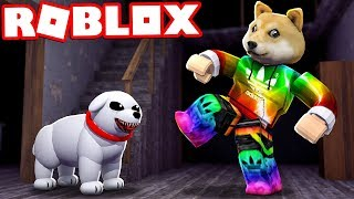 THE TRISTE STORY OF THE EVIL DOG IN ROBLOX 😱