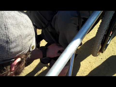 Zackamanjaro the official shoe man 2010 Oceanside Pre-Africa Jan. 19th VID00433 (25).MP4