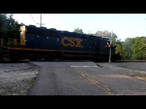CSX Combines Three Trains